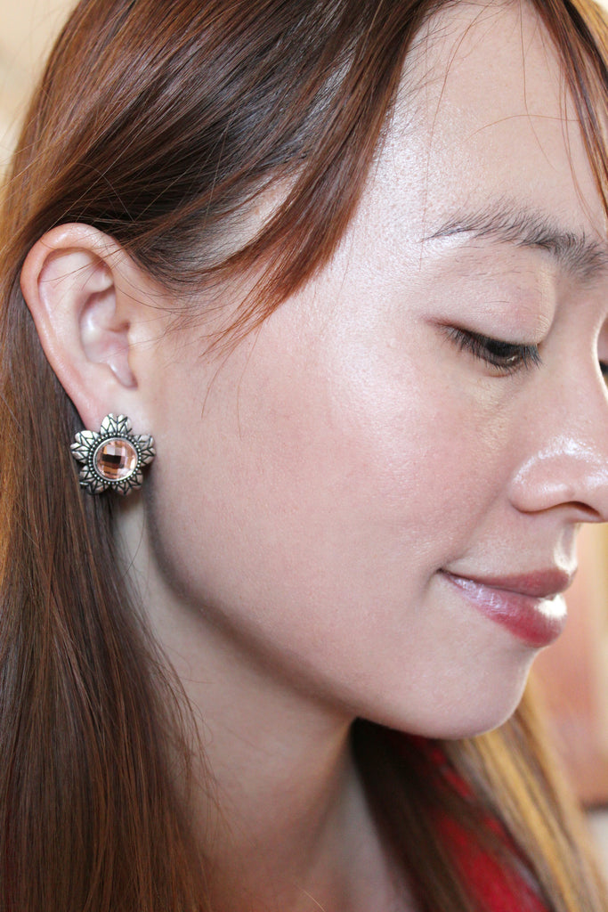 Traditional stone Earrings