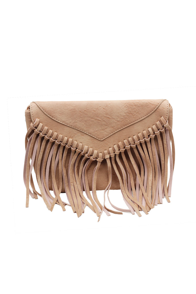 Lady casual tassel small purse