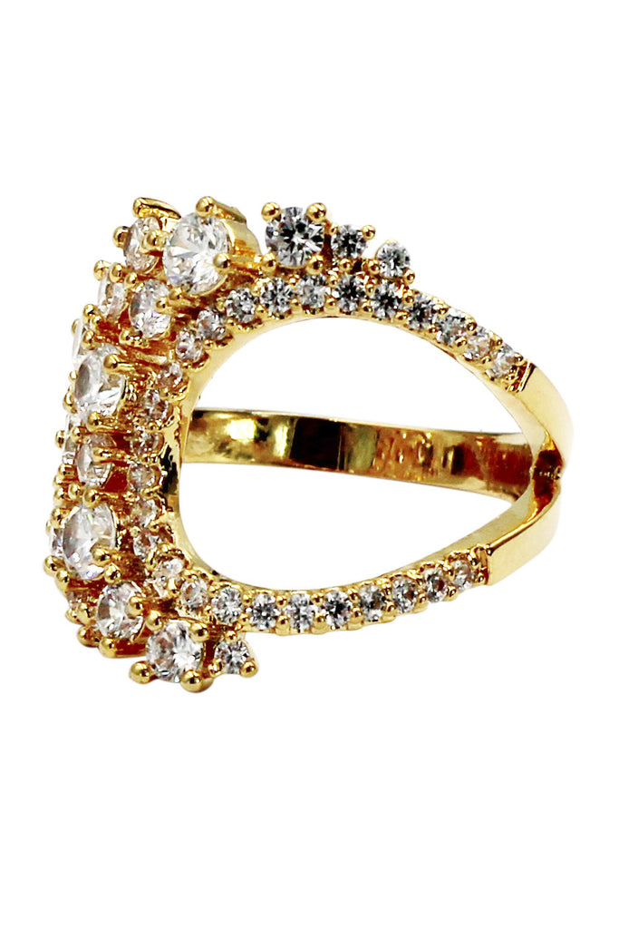 noble special crystal ring