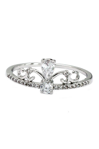 fashion elegant crystal ring
