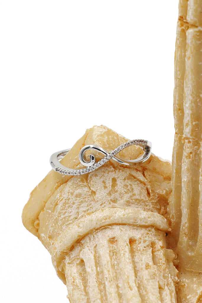 fashion micro crystal ring