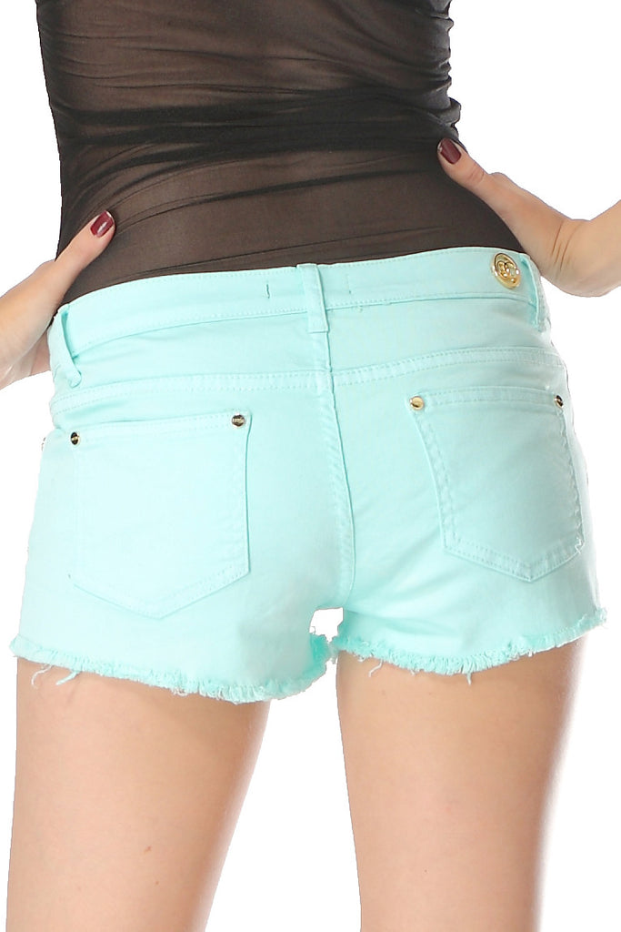 Summer cotton shorts