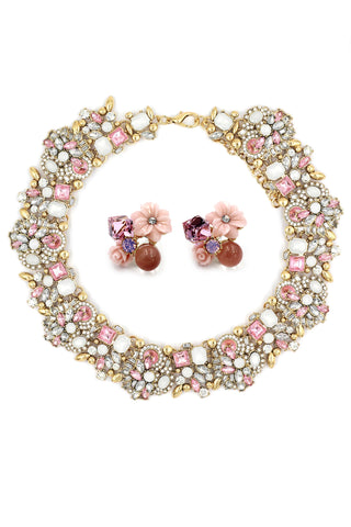 fashion down eight inlaid crystal bracelet
