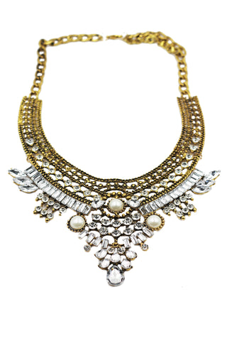 fashion crystal tribe necklace