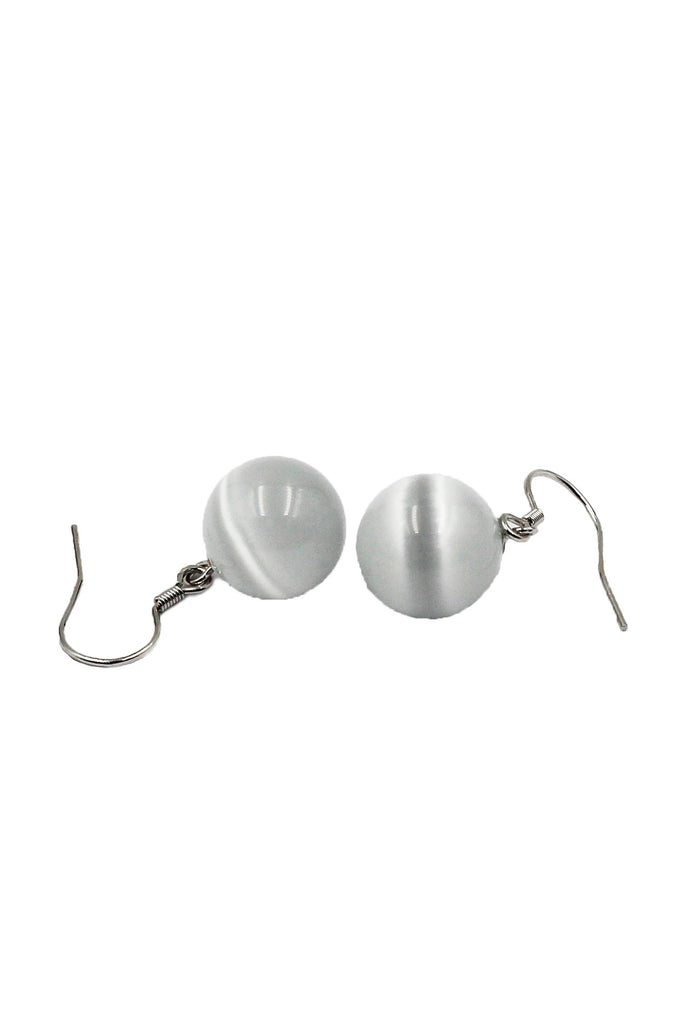 Zip Crystal ball earring