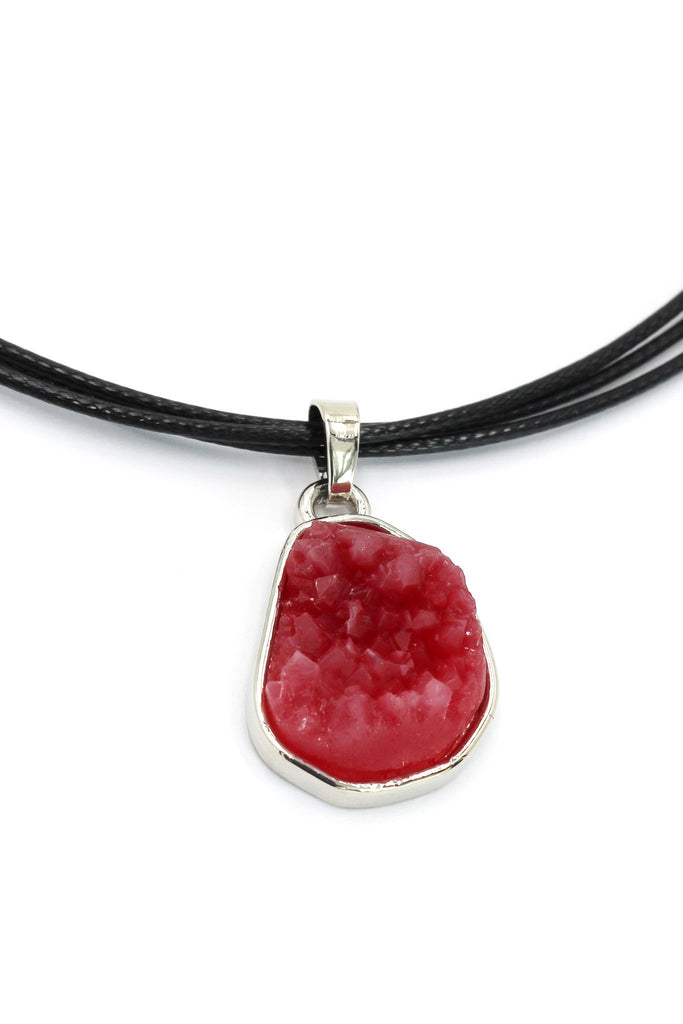fashion red crystal original necklace