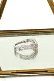 fashion Pai sparkling crystal ring