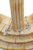 sweety sparkling swarovski crystal earrings
