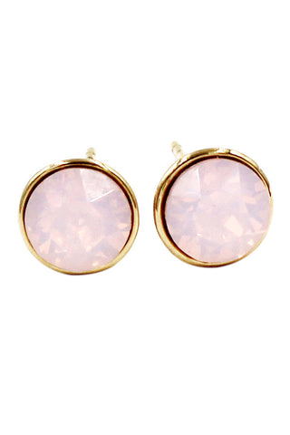 cabinet crystal ball pendant earrings