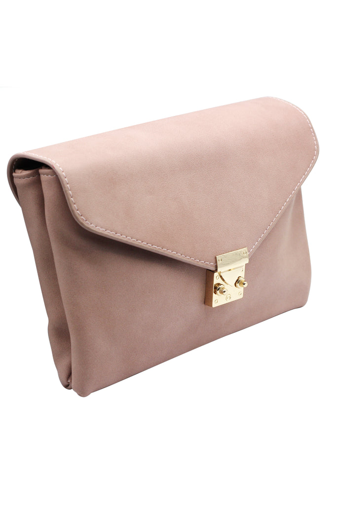 envelope leather purse