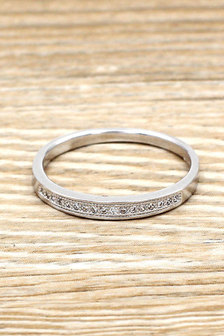 personalized fashion shiny ring