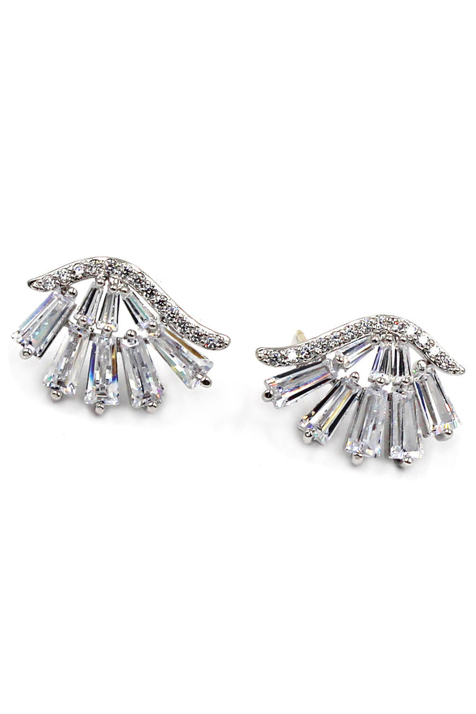 Fashion palms Crystal Earrings