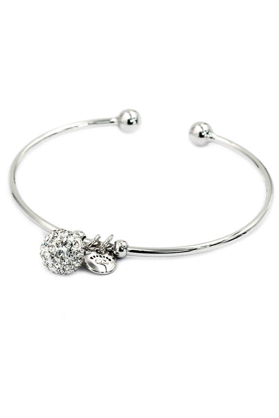 Fashion crystal ball bracelet