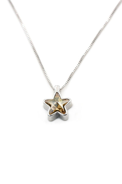 Mini Shining stars crystal necklace