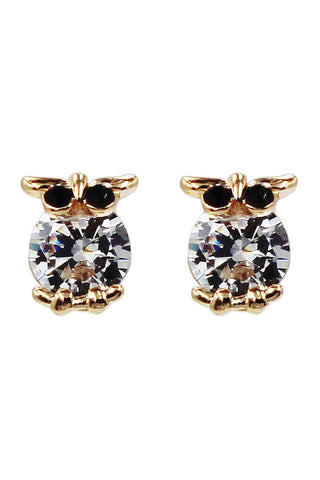 Big diamond multi-colored earrings