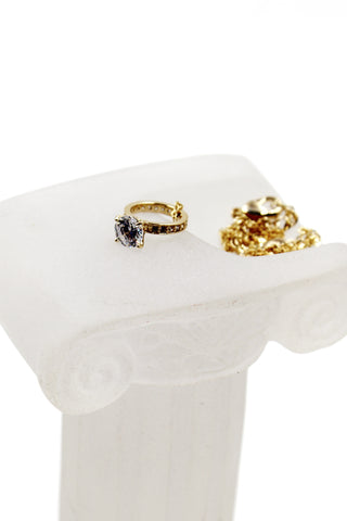 fashion crystal group inlaid ring