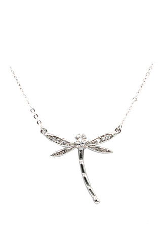 exquisite and simple love crystal necklace