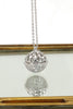 delicate doraemon tinker bell crystal necklace