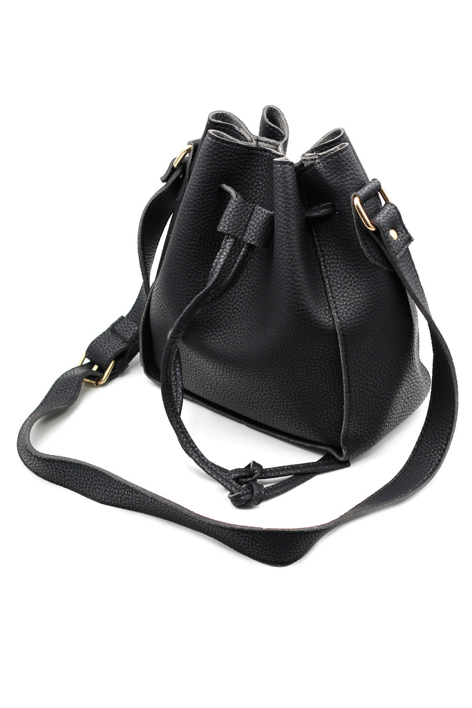 fashion buckets leather handbags