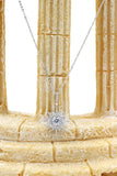 shiny star crystal necklace