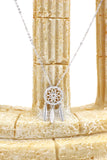 fashion dreamcatcher crystal necklace