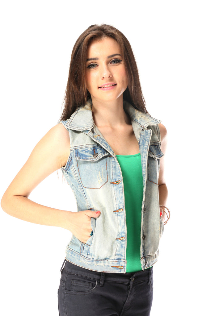 Light Denim Blue Jacket