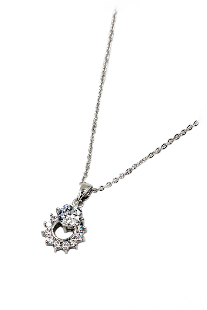 mini crystal delicate clavicle necklace