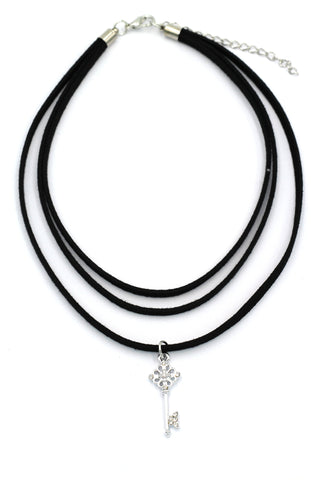 fashion retro pendant crystal choker