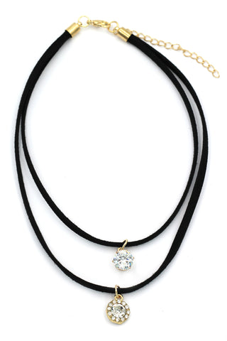 fashion weave water droplets choker