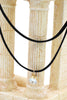 fashion double-chain single circle crystal choker