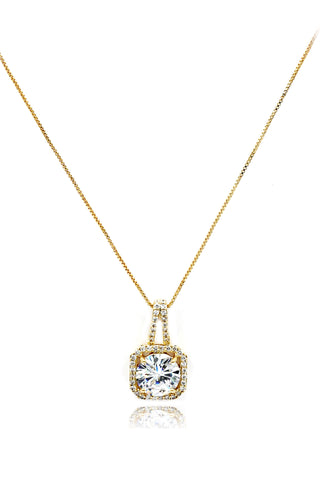 cabinet crystal lock pendant key necklace