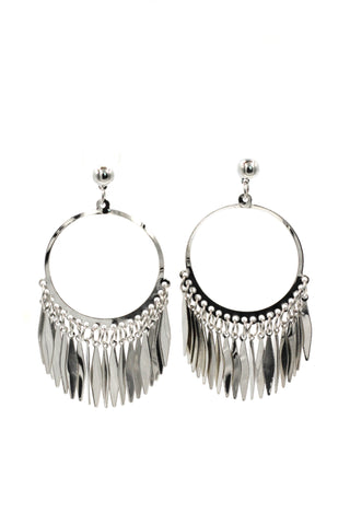 bright sun crystal earrings