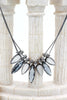 fashion cat eye crystal necklace