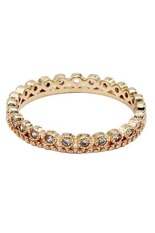 delicate matal crown golden bracelet