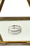fashion group inlaid diamond ring