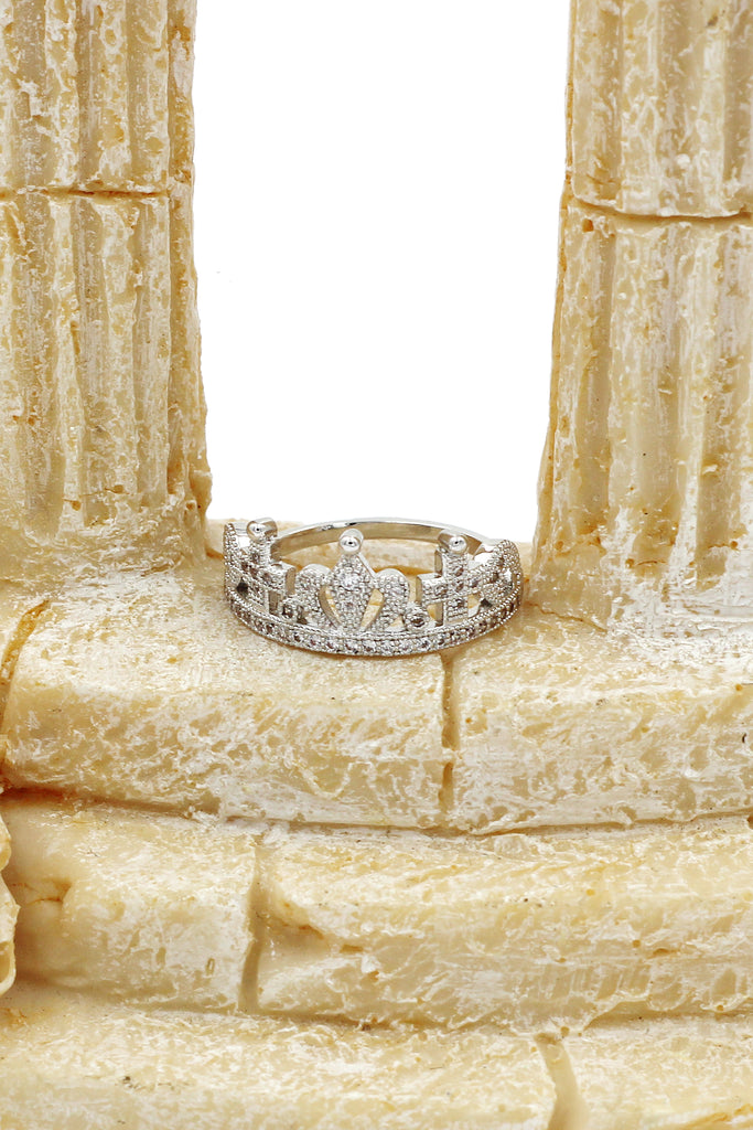 fashion wild crown ring