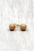 fashion simple small ball earrings