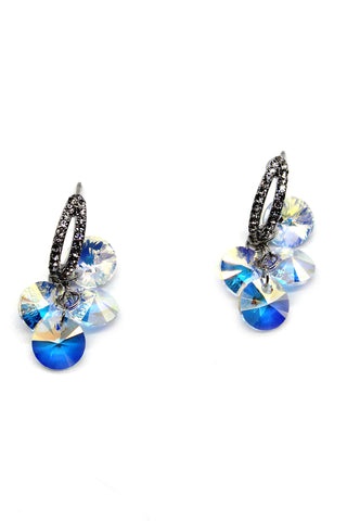 Trendy lady butterfly earrings