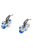 fashion sparkling swarovski crystal earrings