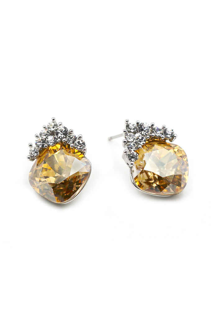 lovely cute crystal earrings