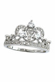 aesthetic group of crystal crown ring