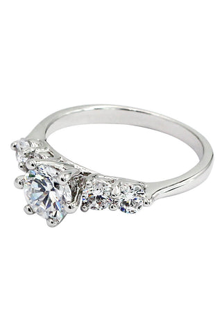 glitter crystal ring
