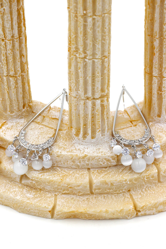 pendant beads earrings