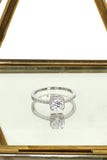 square diamond ring