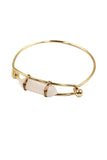fashion crystal golden bracelet