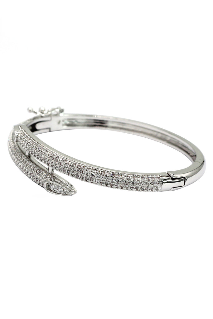 noble micro-crystal inlay bracelet