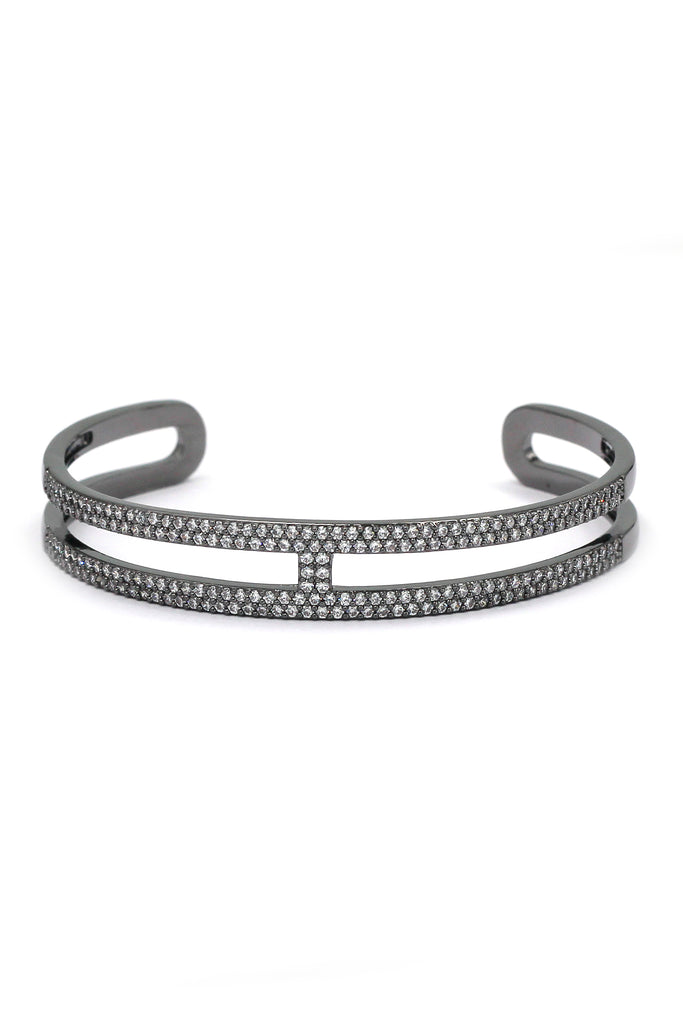 fashion micro crystal open bracelet