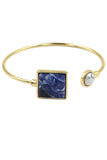 fashion colorful golden bracelet