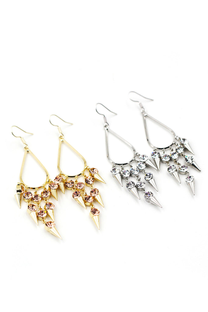 Noble Crystal Earrings
