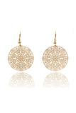 fashion exquisite hollow earrings